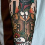 Boba Fett Gone Hunting Tattoo [pic]