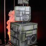 Star Trektastic Borg Cubes Wedding Cake [pic]