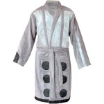 Doctor Who Silver Dalek Bath Robe [pic]