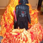 Darth Vader is Surrounded by Flames in This Cake [pic]