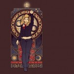 Doctor Who Rose Tyler Bad Wolf T-Shirt is $10 Today Only! [pic]