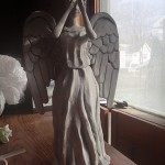 DIY: Weeping Angel Christmas Tree Topper [pic]