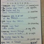 The Doctor Who Workout Routine [pic]