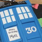 Matt Smith's 30th Birthday TARDIS Cake [pic + video]