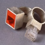 RJ45 Ethernet Wedding Rings [pic]