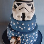 Stormtrooper Helmet Wedding Cake [pic]