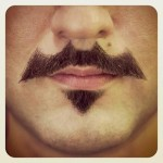 A Fantastic Bat-Stache! [pic]