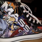 Custom Mass Effect Converse Shoes [pics]