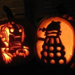 Doctor Who Inspired Dalek and Cyberman Pumpkin Carvings [pic]