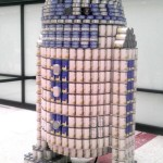 R2-D2 Canned Food Sculpture [pic]