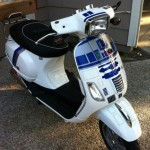 R2-D2 Themed Vespa [pic]