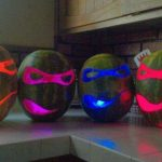 Teenage Mutant Ninja Turtles Watermelon Carvings [pic]