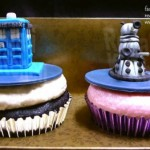 Fantastic Doctor Who Dalek and TARDIS Cupcakes [pics]