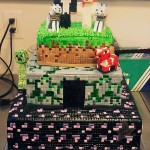 Spectacular Minecraft Wedding Cake [pic]