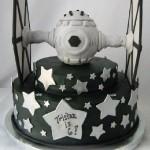 Tie Fighter Birthday Cake [pic]