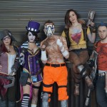 Scarlett, Moxxi, Lilith, Salvador, and Psycho Borderlands Cosplay [pic]