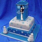 Fantastic Doctor Who Wedding Cake [pic]