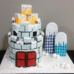 Gingerbread Super Mario World Castle [pic]