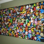This LEGO Wall Mural is an Epic Tribute to Video Games [pic]