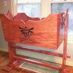 Legend of Zelda Hylian Crest Crib [pic]