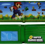 New Super Mario Bros Bi-Fold Wallet [pic]