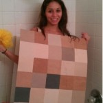 Pixelated Sim in the Shower Cosplay [pic]