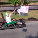 Engineers Create Real Life Mario Kart and it is Awesome! [pic + video]