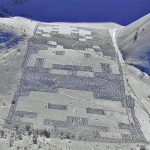 Gigantic Mountainside 8-bit Space Invaders Snow Art [pics]