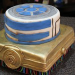 Star Wars R2-D2 and C-3PO Cake and Misc Star Wars Cookies [pics]
