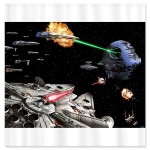Star Wars Art Shower Curtain [pic]