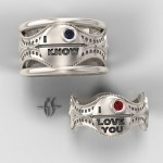 These His and Hers Star Wars Wedding Rings are Amazing! [pic]