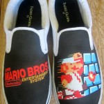 Custom Super Mario Bros Canvas Shoes [pic]