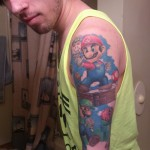 Super Mario Bros Sleeve Tattoo [pic]