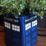 TARDIS Flower Pot [pic]