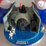 Darth Vader's Tie Bomber Cake [pics]