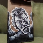 This Weeping Angel Lunch Bag Art is Scary and Fantastic! [pic]