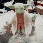 This Yoda Snowman is Very Cool! [pic]