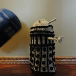 A Dalek French Press Cozy for the Doctor Who Loving Coffee Fan [pic]