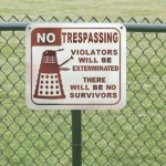 Trespassers Will Be Exterminated by Daleks [pic]