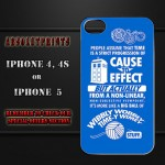 Doctor Who Wibbly Wobbly Time-y Wimey iPhone Case [pic]