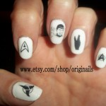 Star Trek Nail Tattoos [pic]