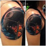 A Beautiful Star Wars Shoulder Tattoo [pic]