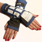 TARDIS Wrist Warmers [pic]