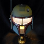 This Boba Fett Helmet Lamp Awesome and You Can Make Your Own! [pics]