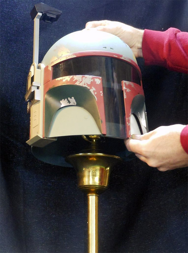 This Boba Fett Helmet Lamp Awesome And You Can Make Your Own Pics Global Geek News
