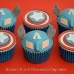 Amazing Captain America Cupcakes [pic]