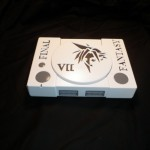 Custom Final Fantasy VII PlayStation Console Mod