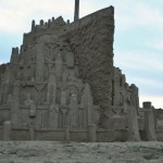 This Minas Tirith Sand Sculpture is Incredible!