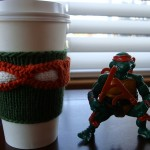 Make Your Own Teenage Mutant Ninja Turtles Coffee Cup Cozy [pic]