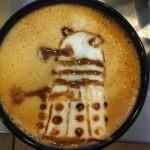 Fantastic Dalek Latte Art [pic]